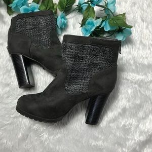 Juicy Couture Heel Ankle Boots